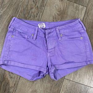 💜 denim shorts size 3